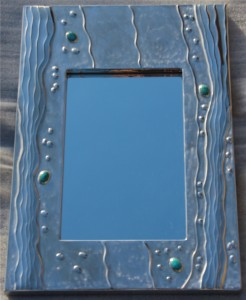 MIRROR RIPPLING WATER & TURQUOISE